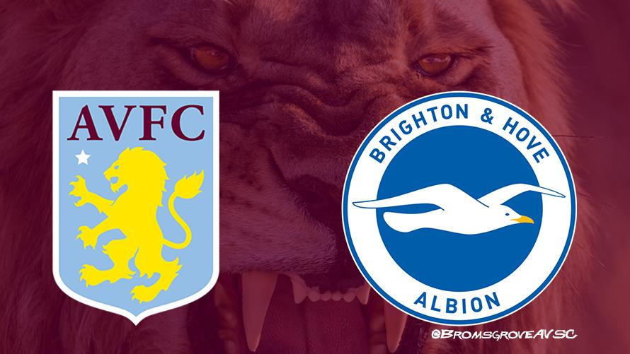 Aston Villa v Brighton & Hove Albion (19/10/19) - Bromsgrove Villa Lions